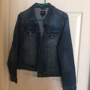 Curve Appeal denim jacket